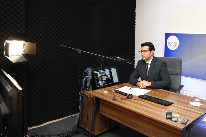 Gaziantep Üniversitesi'nde doçentlik sınavları online olarak gerçekleştirildi