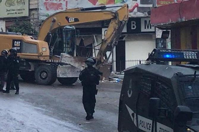 İşgalci siyonistler Filistinlilere ait yaklaşık 200'e yakın iş yerini yıkacak