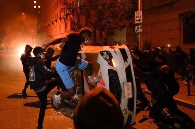 Washington'da 2 gün sokağa çıkma yasağı ilan edildi
