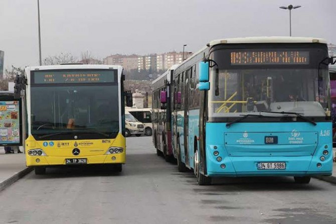 Toplu ulaşımda yüzde 50 sınırlandırması kaldırıldı