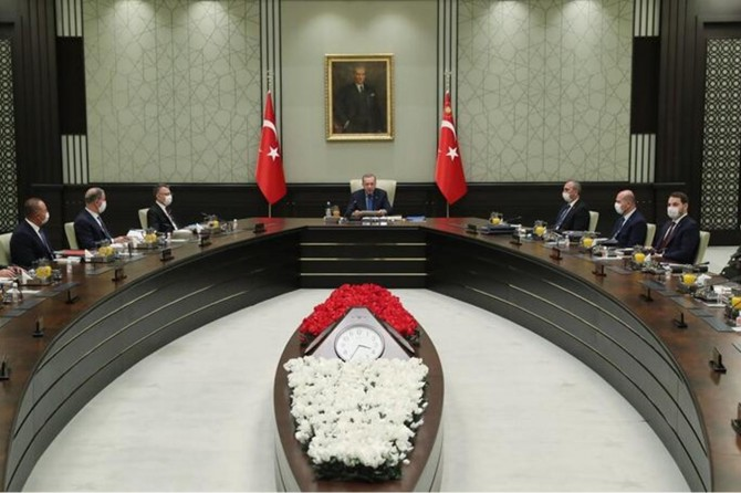 MGK toplantısında salgınla mücadele ve Suriye toprak bütünlüğüne vurgu yapıldı