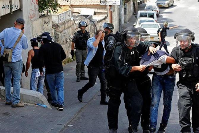 Siyonist işgal rejimi 6 Filistinliyi esir aldı