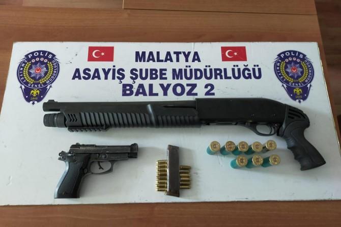 Malatya'da aranması bulunan 71 şüpheli yakalandı