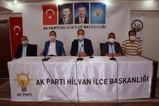 AK Parti Şanlıurfa Milletvekili Özcan Hilvan'ı ziyaret etti