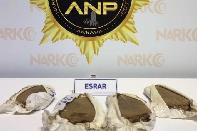 Ankara Keçiören'de uyuşturucu ticareti yapan 2 kişi gözaltına alındı