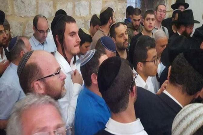 İşgalci Yahudi yerleşimciler Yusuf Türbesine saldırdı