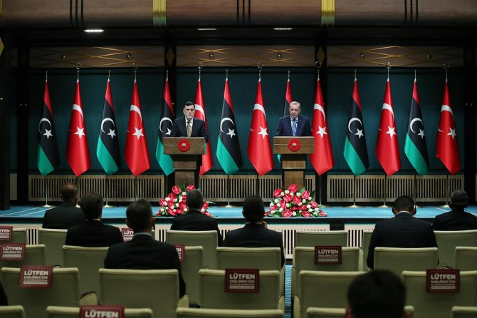 """Cumhurbaşkanı Erdoğan: """"Darbeci Hafter gerçek yüzünü göstermiştir"""""""