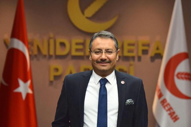 """Yeniden Refah Partili Sakartepe: """"Yüzde 10 barajı temsilde adaleti zedelemektedir"""""""