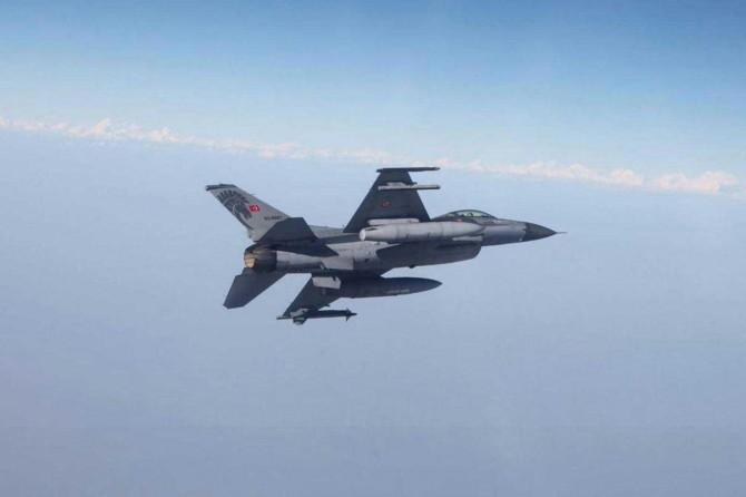 Irak'ın kuzeyine yapılan hava harekâtında 4 PKK'li öldürüldü