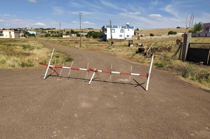 Çınar'a bağlı Avdallı (BÎrabazın) köyü Coronavirus nedeniyle karantinaya alındı