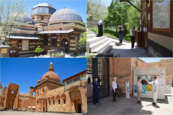 Ağrı'daki Ahmed-i Hani ve İshak Paşa Sarayına ziyaretçi akını