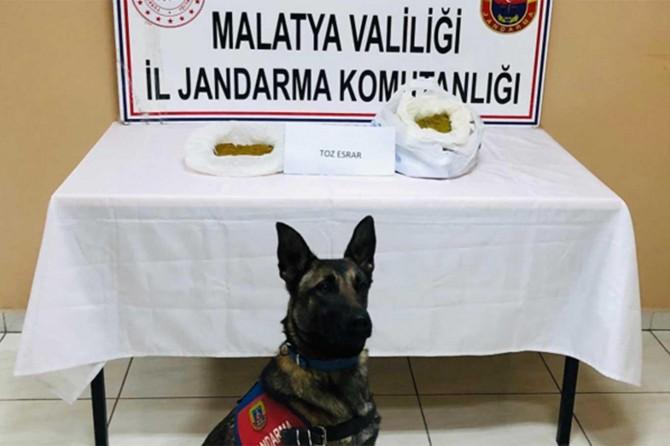 Battalgazi'de uyuşturucu ticareti operasyonunda 4 kişi yakalandı