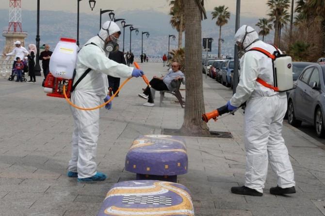 Lübnan'da Coronavirus vaka sayısı 1312'ye yükseldi