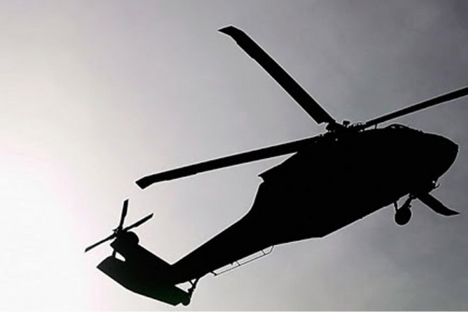 Endonezya'da askeri helikopter düştü: 4 ölü 5 yaralı