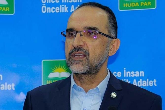 HÜDA PAR Genel Başkanı Sağlam'dan Abdullah Şallah için taziye mesajı