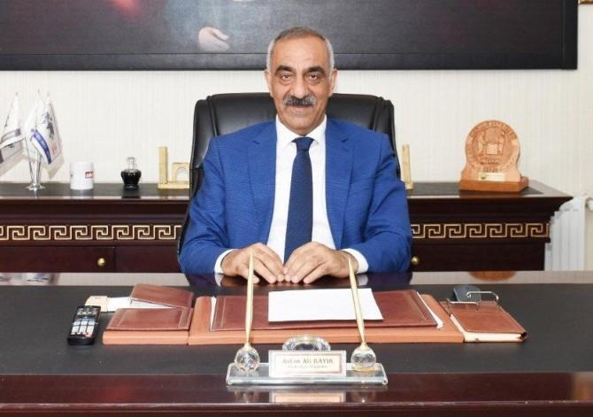 Hilvan Belediye Başkanı Aslan Ali Bayık'ın Covid-19 testi pozitif çıktı
