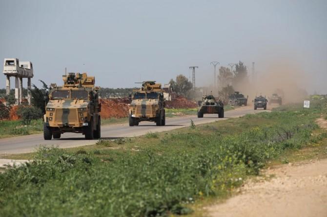 Türkiye ile Rusya'nın, Suriye'nin İdlib kentinde ortak devriyesi devam ediyor