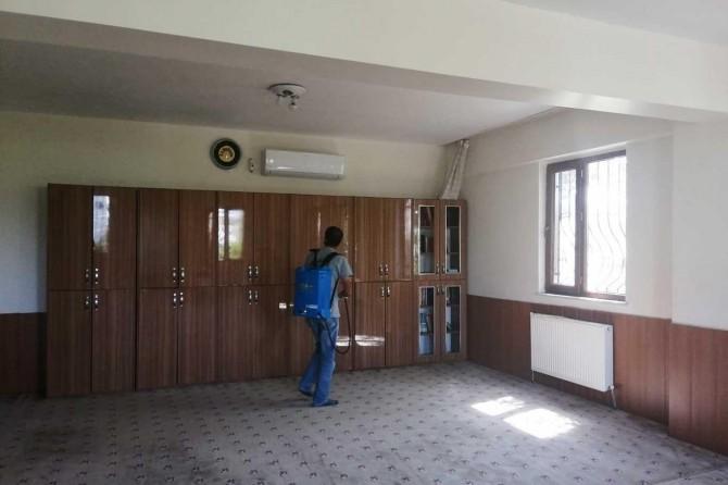 Diyarbakır'da eğitime başlayacak olan Kur'an kursları dezenfekte edildi