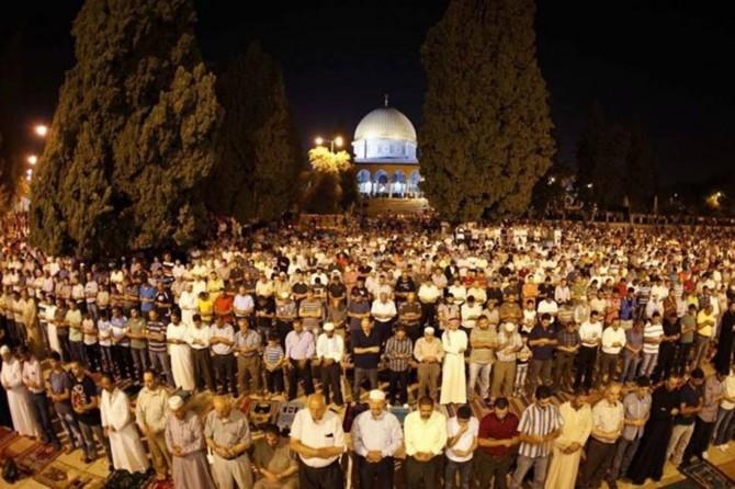 """Şeyh İkrime Sabri: """"Büyük Şafak etkinliğine imkânı olan tüm Filistinliler katılmalı"""