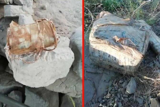 Haftanin'de PKK'nin yola tuzakladığı mayın ve EYP'ler imha edildi