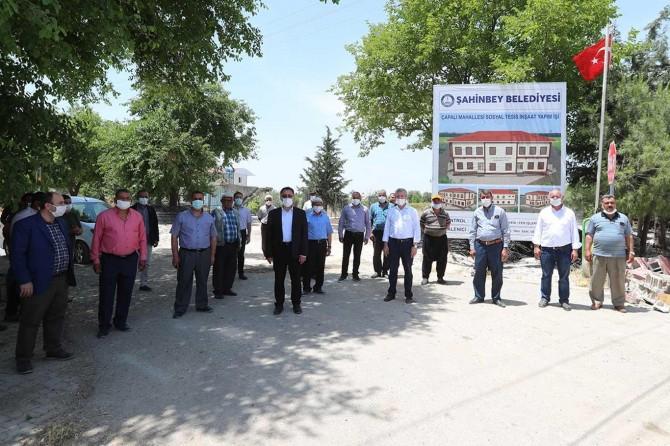 Gaziantep'te her mahalleye bir sosyal tesis yapılıyor