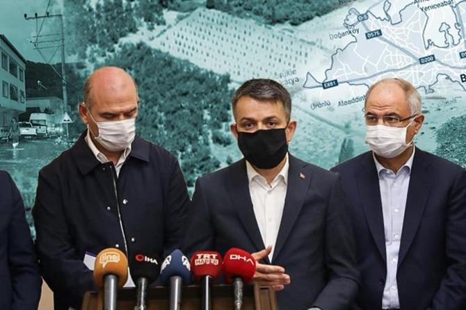 Bursa'da selden etkilenen orman köylülerine hibe desteği verilecek
