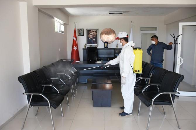 Hilvan'da Covid-19 salgını ile mücadele çalışmaları sürüyor