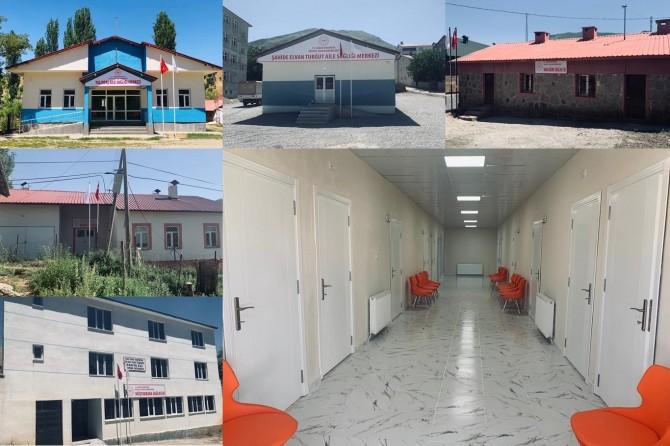 Bitlis İl Sağlık Müdürlüğü ilçe ve köylerde sağlık merkezleri açtı