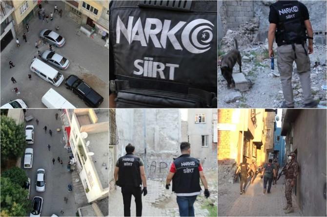 Siirt'te uyuşturucu operasyonu: 3 gözaltı