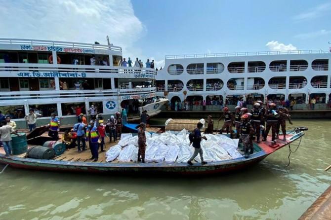 Bangladeş'te meydana gelen feribot kazasında 30 kişi hayatını kaybetti