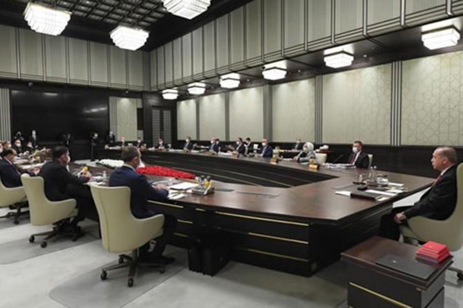 Turkey's Presidential Cabinet convenes under Erdoğan's chairmanship