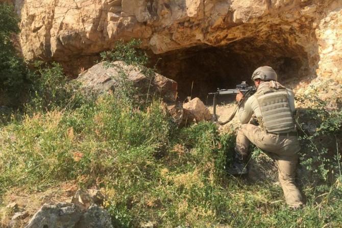 Hakkâri kırsalında PKK'ye yönelik operasyon gerçekleştirildi