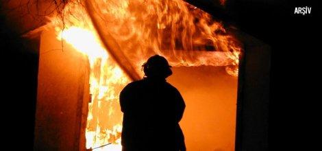 Afşin Elbistan termik santralinde yangın
