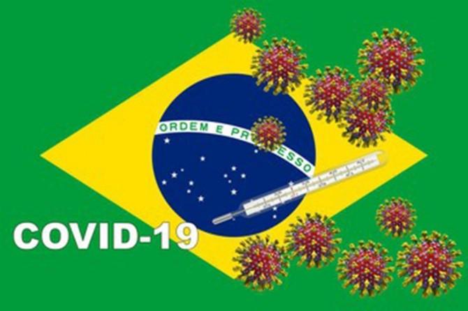 Li Brezîlyayê di rojekê 1280 kesên din ji ber Coronavîrê mirin