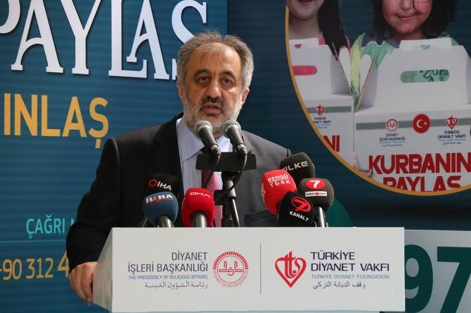 """İstanbul Müftüsü Maşalı: """"Türkiye'de 77 il, yurt dışında 75 ülkede kurban kesimi yapılacak"""