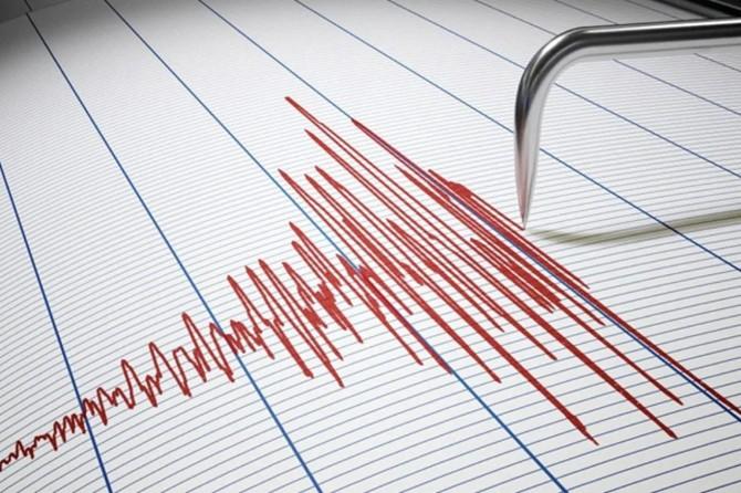 Manisa'da 3,5 büyüklüğünde deprem