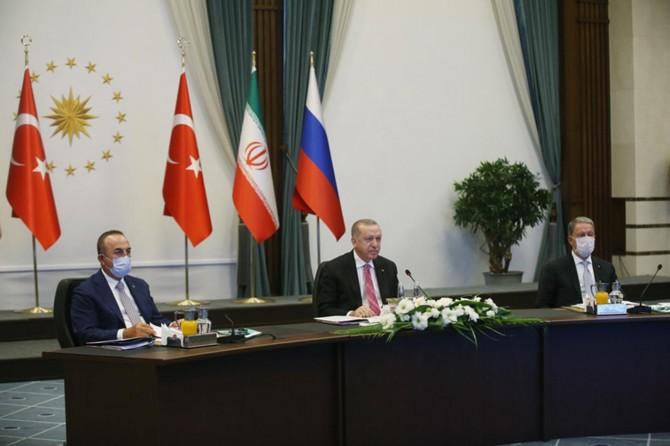 Türkiye-Rusya-İran Üçlü Zirvesi düzenlendi