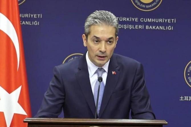 Dışişleri Bakanlığından ABD'nin Ayasofya açıklamasına tepki