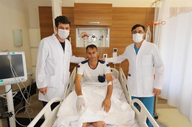 Adıyaman Eğitim Araştırma Hastanesinde ilk kez ERCP işlemi yapıldı