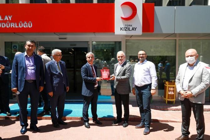 Kızılay Malatya Şubesi başarı ödülüne layık görüldü