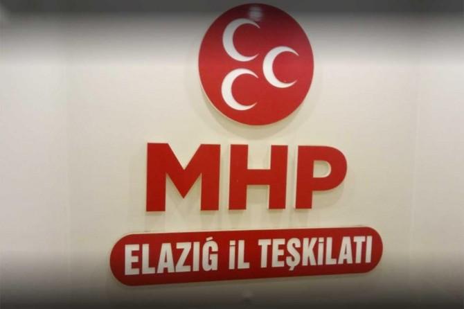 MHP Elâzığ Merkez İlçe Teşkilatı feshedildi