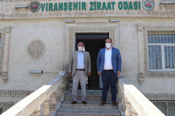 Viranşehir Belediye Başkanı Salih Ekinci'den oda başkanlarına ziyaret