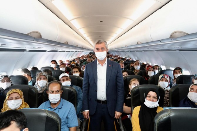 Gaziantepli öğrenciler Çanakkale'ye götürüldü