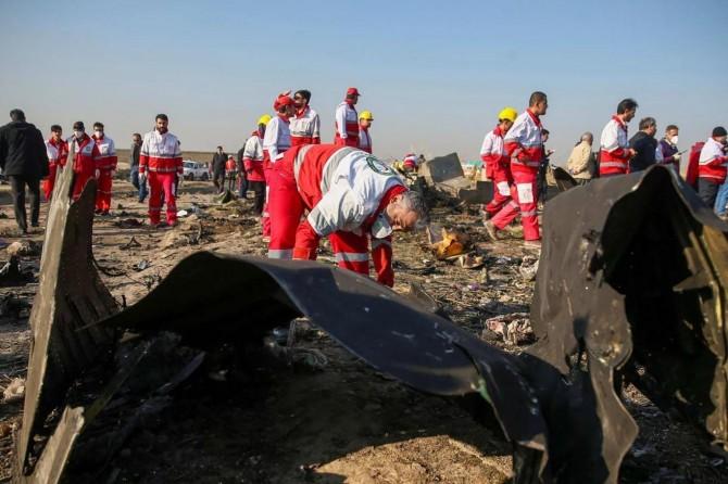 İran, yanlışlıkla vurduğu Ukrayna uçağı için tazminat ödeyecek