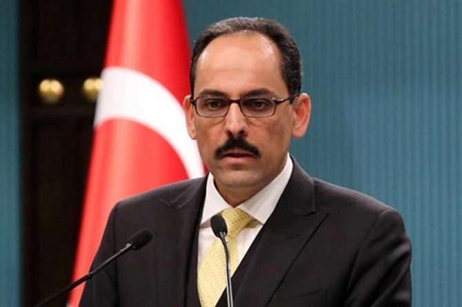 İbrahim Kalın'dan siyonist rejimin ilhak girişimine tepki