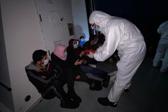 Sahil Güvenlik Komutanlığı: Muğla'da 17 düzensiz göçmen kurtarıldı