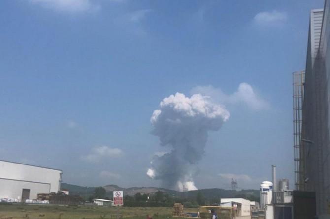 Huge blast at Turkey fireworks factory
