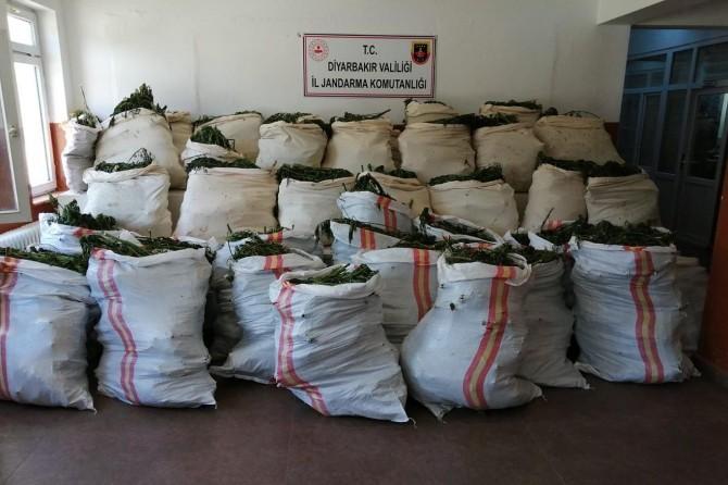 Li Diyarbekirê 3 ton tiryak hat bidestxistin