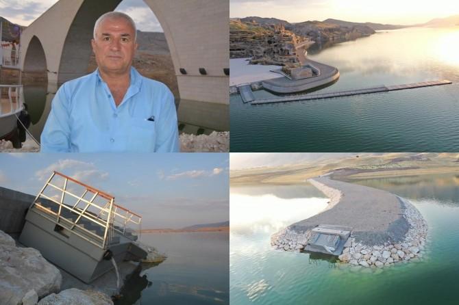 Hasankeyf'te kopan 3 limana müdahale edilememesine tepki