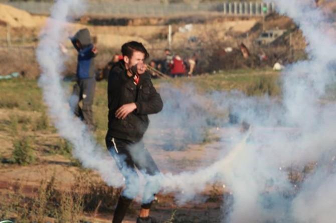 Batı Şeria'daki gösterilerde 21 Filistinli yaralandı